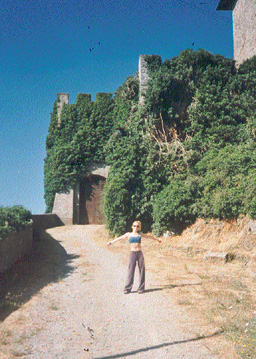Me At Piccolomini Castle